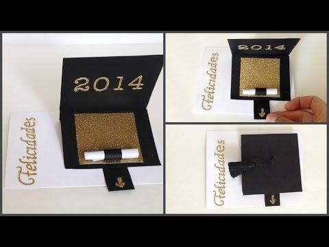 How To Make A Tassel & Graduation Cap Card - YouTube