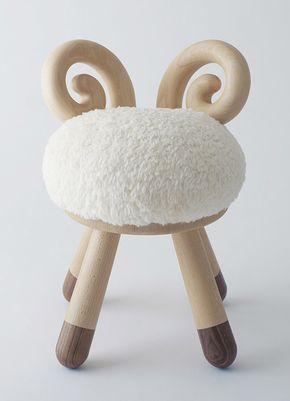 Poligöm // Kamina&C - Sheep Chair