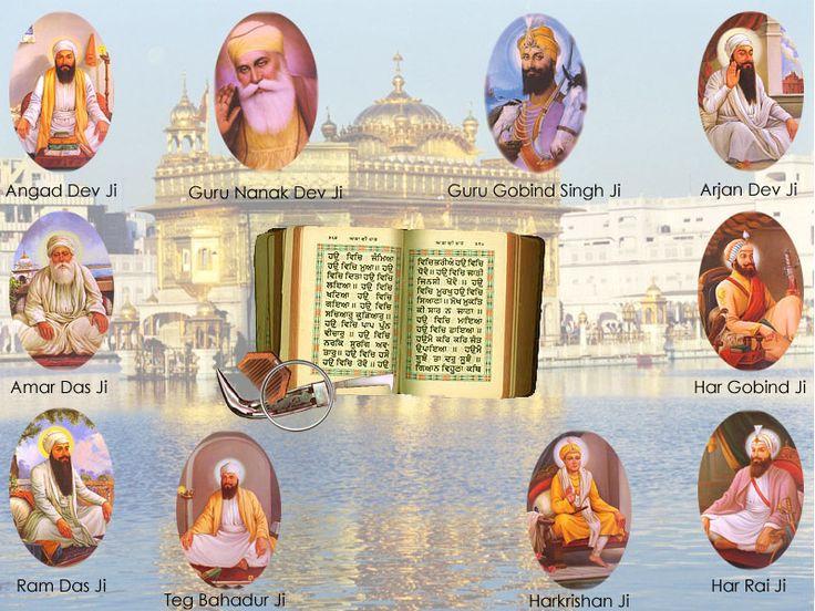 Sikh | History of Sikhs and Present Modern Sikhs: Sikh Gurus