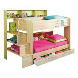 Lits superposés (tiroir-lit en option)