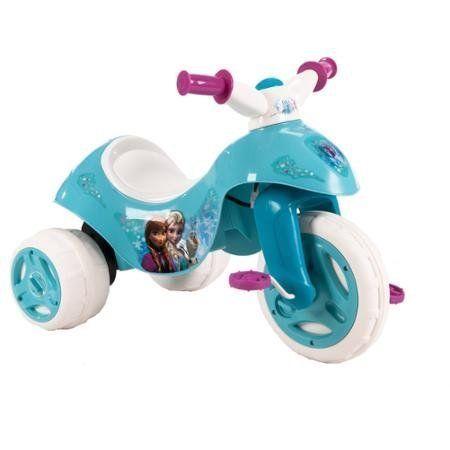 Fun Huffy Disney Frozen 6V Dual Power Tricycle