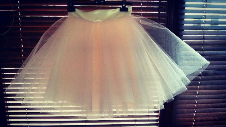 Melounova tylova sukne
