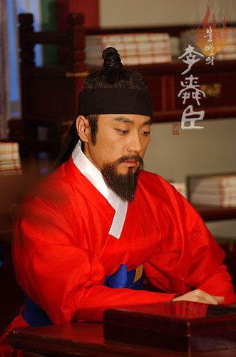 "Immortal Admiral Yi Sun-sin (Hangul: 불멸의 이순신; RR: Bulmyeolui I Sun-sin; lit. ""The Immortal Yi Sun-sin"") is a 2004 South Korean television series based on the life of Yi Sun-sin, starring Kim Myung-min in the title role. It aired on KBS1 for 104 episodes. The series filmed on location at the actual battle sites. It made extensive use of rendered images and a reconstruction of a turtle ship. Due to the preparation needed, the show took many months to produce."