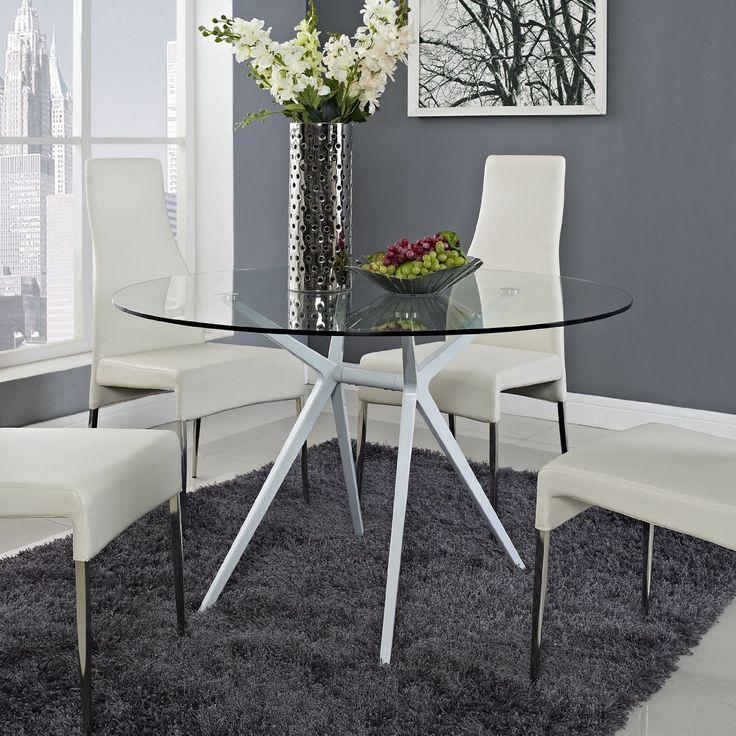 Die besten 25+ Oval glass dining table Ideen auf Pinterest Große