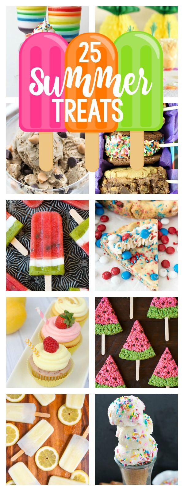 Summer Dessert ideas