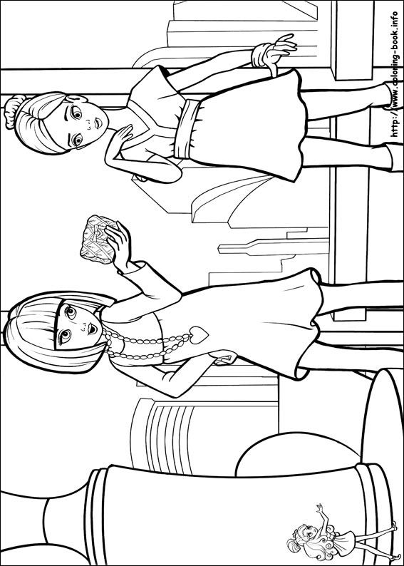204 best images about Barbie Coloring Pages on Pinterest ...
