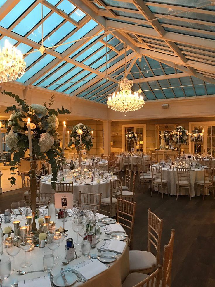 Winter Wedding in the Orangery - Flowers by Joeanna Caffrey