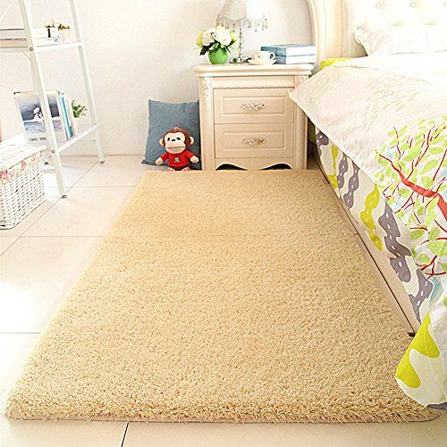 Super Soft Sherpa Bedside Rug Runners Fluffy Bedroom 31 By 63 Inchmaxyoyo Solid Gy Runner