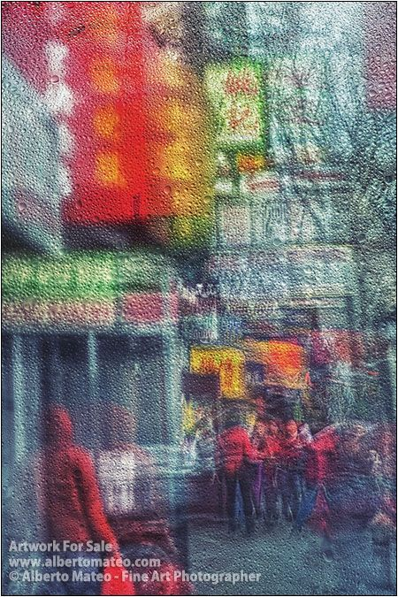 Rain in Chinatown, New York. [3/3] | Fine Art Photography | Artwork for Sale by Alberto Mateo.