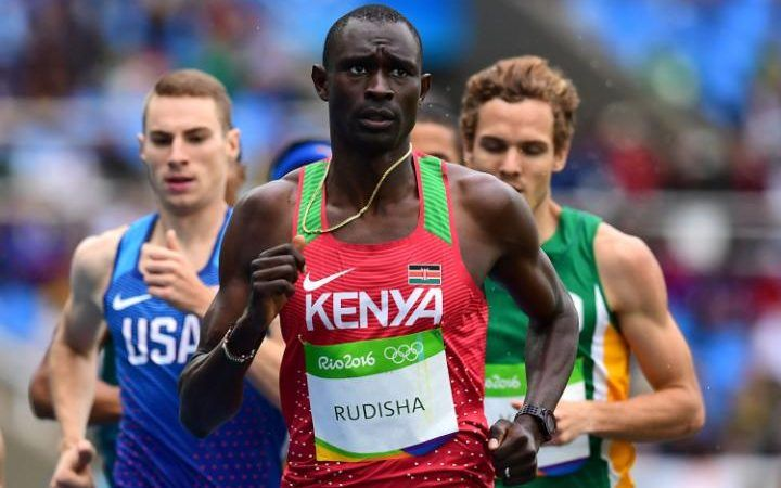 Rio Olympics 2016: Kenya's David Rudisha smashes world record again