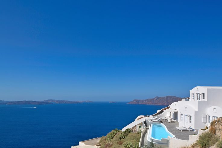 Enjoy time away with loved ones at the Canaves Oia Villa