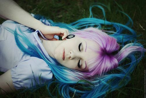 pelo de color | Tumblr