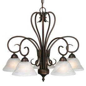 5-Light Collette Rubbed Bronze Chandelier: Lights, Dining Room, Nook Chandelier, Golden Lighting, Chandeliers, Rubbed Bronze, Homesteads, Light Nook, Nooks