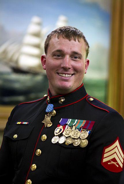 Corporal Dakota L. Meyer, US Marine Corps Medal of Honor recipient Battle of Ganjgal, Kunar Province, Afghanistan September 8, 2009.