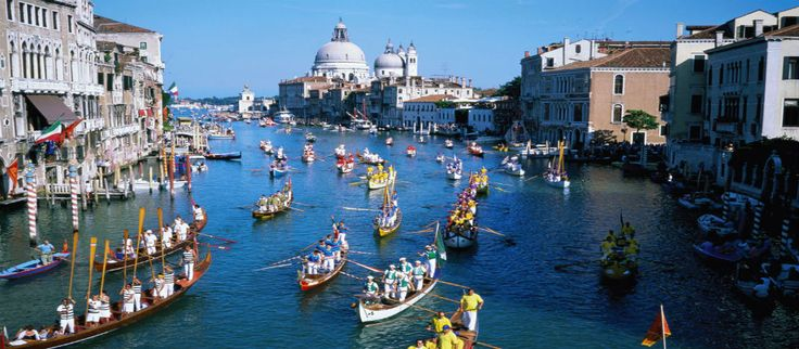 Waiting for the memorable Regata Storica of #Venice !