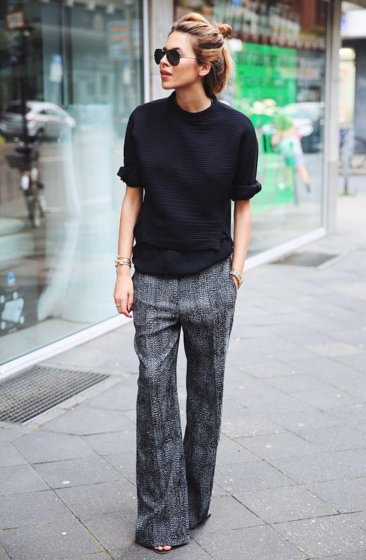 Préférence Oltre 25 fantastiche idee su Pantaloni palazzo su Pinterest | Moda  WS16