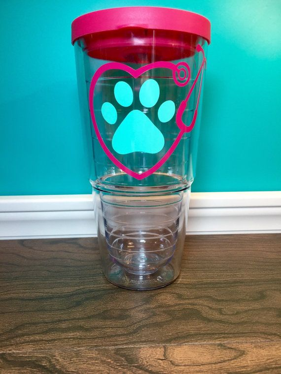 SALE Vet tech gift stethoscope tumbler by MadisonOliviaDesigns