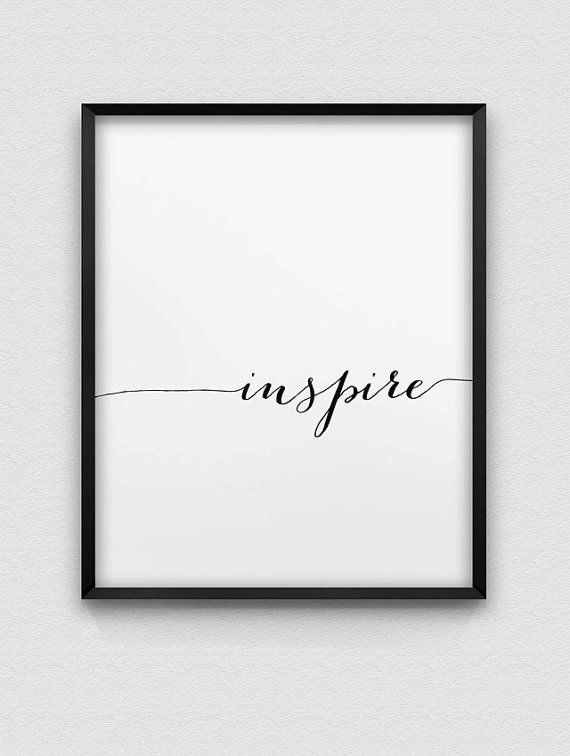 neutral office decor. inspire a modern typographic print in black and white available variety home decorwhite office neutral decor