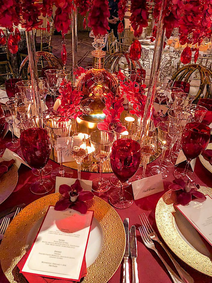 2018 Nybg Orchid Dinner Continued Quintessence Dining Room Table Centerpieces Dinner Decoration Red Dining Room