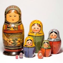 The Russian Nesting Doll ....still need to.buy a set.