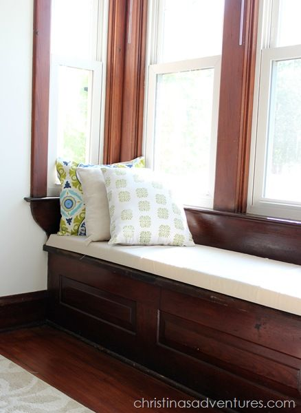 17 best ideas about window seat cushions on pinterest bench cushions patio cushions and. Black Bedroom Furniture Sets. Home Design Ideas
