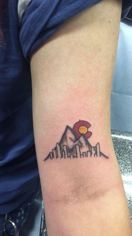 Tattoos tattoo ideas on pinterest rn - Got A Tattoo To Represent Colorado