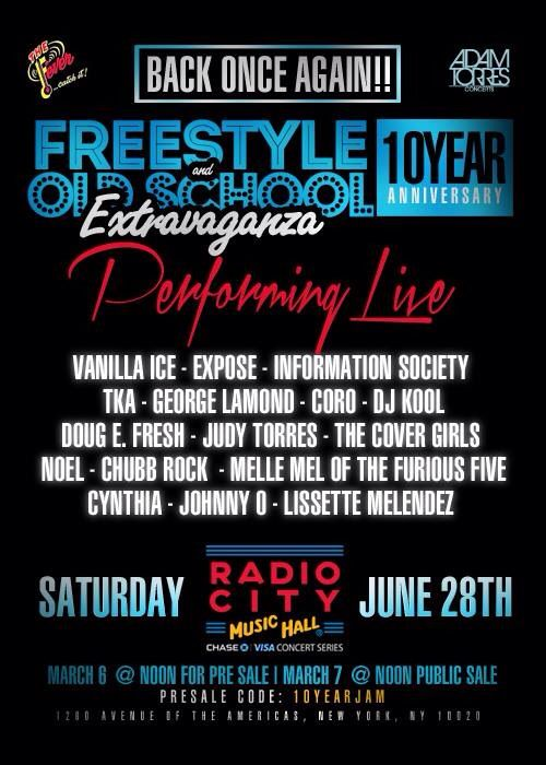 Judy Torres & other amazing freestyle artist gathering for the 10th Annual Frees… – Terence Torres