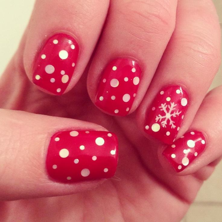 Jessica Christmas Nails: Holiday Nails