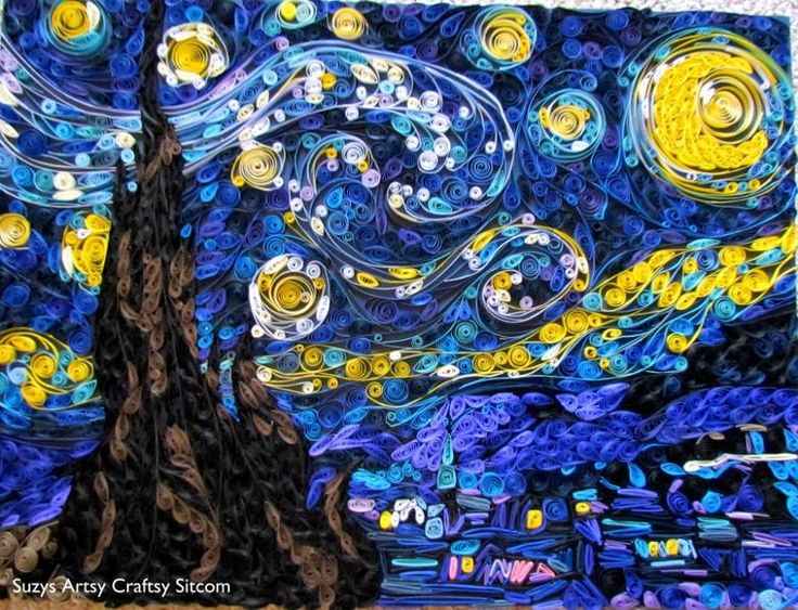 handbags online Paper Crafts Quilled Starry Night  Artful