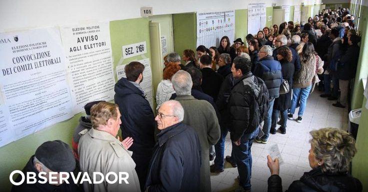 A taxa de italianos que votou até às 1200 (menos uma hora em Lisboa) nas eleições legislativas foi de 19,38%, segundo informou o ministério do Interior italiano, na sua página oficial de Internet. http://observador.pt/2018/03/04/mais-de-19-dos-eleitores-italianos-votaram-ate-as-12h00/