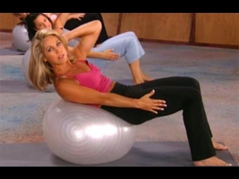 Denise Austin:  Yoga Core Strength Workout