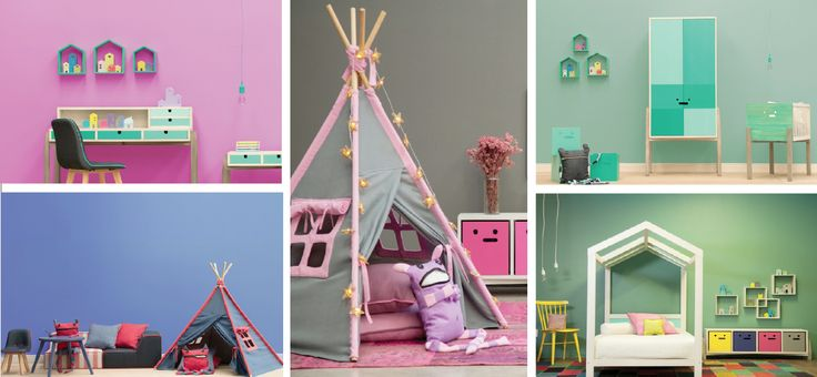 tendencias colores cuartos de niños