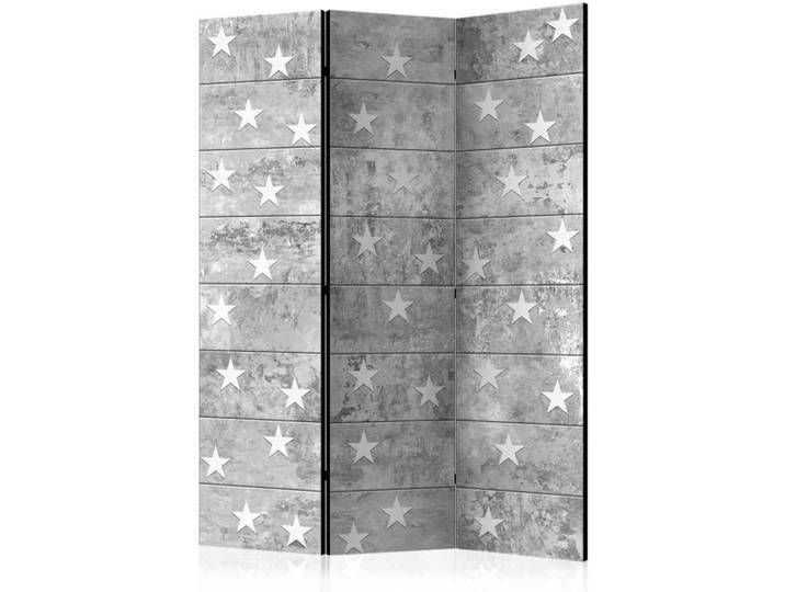 Sichtschutz Paravent In Grau Sternen Grau Paravent Raumtrenner Sichtschutz Sternen In 2020 Raumteiler Regal Raumteiler Raumtrenner
