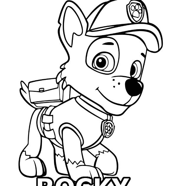 Paw Patrol Rocky Coloring Pages Free Paw Patrol Coloring Pages Paw Patrol Coloring Pages In 2020 Paw Patrol Coloring Pages Paw Patrol Coloring Paw Patrol Printables