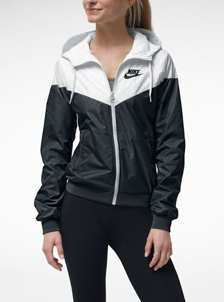 Nike Windrunner have it in blue!