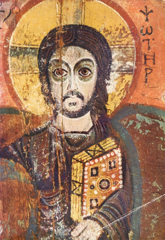 Medieval Art Paintings Religious Le Christ et son ami :...