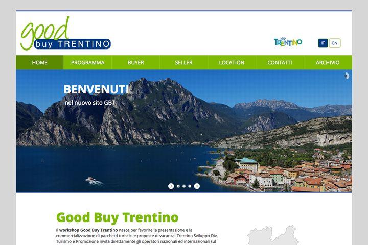 Abbiamo rinnovato il sito web di Good Buy #Trentino, workshop che nasce per favorire la presentazione e la commercializzazione di pacchetti turistici e proposte di vacanza.  events.orikata.it/2014/good-buy-trentino-2014