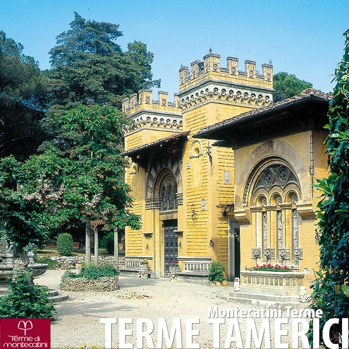 Le Terme Tamerici di Montecatini Terme.