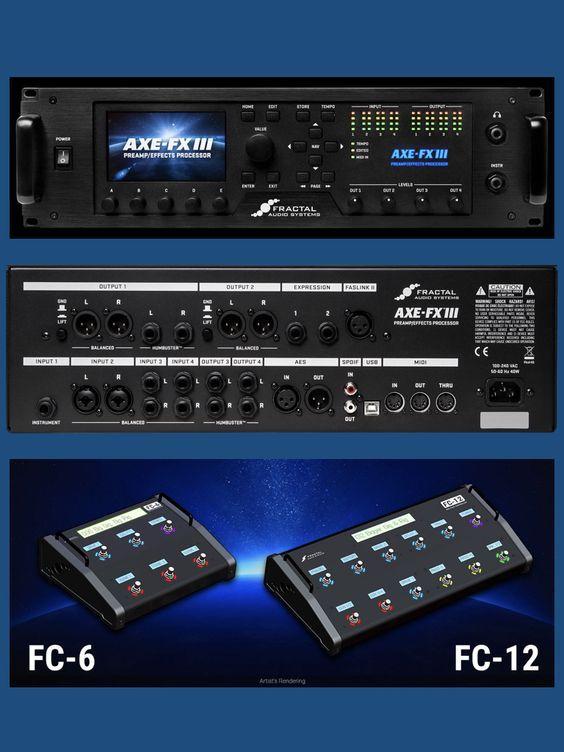 Axe-Fx III - Amp Modeler - Preamp - Effects Processor