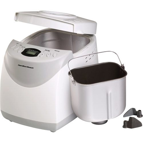Hamilton Beach 2-lb Bread Machine - has gluten free options and recipe book from Bobs Red Mill!