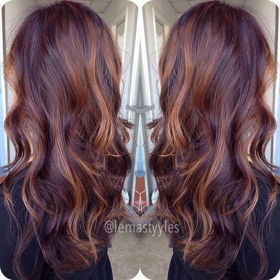 10 Mahogany Hair Color Ideas Ombre Balayage Hairstyles