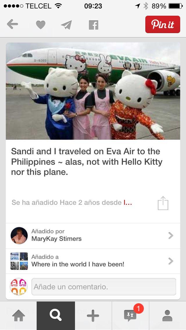 Lugares famosos con embajador de marca #mascots #botargas #Viajes  Creamos el tuyo y llévalo al lugar emblemático de tu País Avión de Kitty  y botargas en las #Filipinas #botargas originales