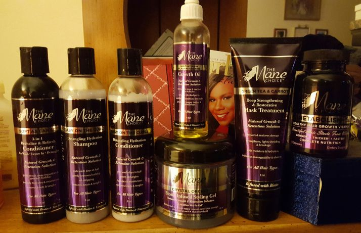 The Mane choice... i am willing to try a couple of products without the alcohol in them