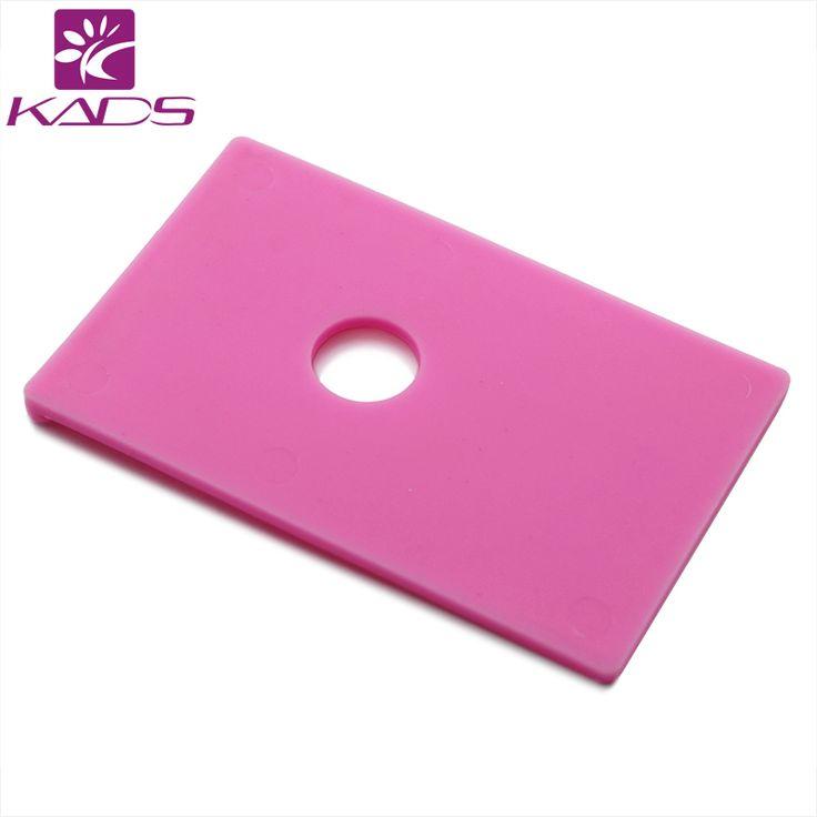 10 ps rosa Professional Nail Stamping imagem suporte de placa suporte bandeja para Template Stamping placa de impressão prego Stencil alishoppbrasil