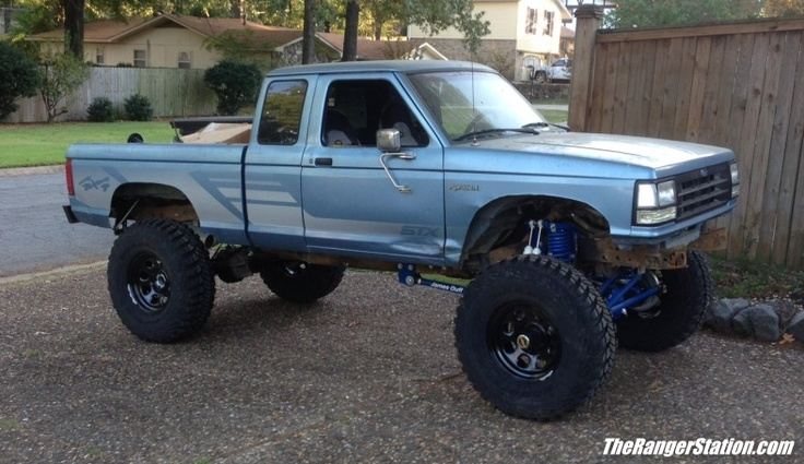 1991 ford ranger 4x4 owned by forum member grunizzle see more at httpwwwtherangerstationcomforumsshowthreadphpt45365 pinterest 4x4 ford - Lifted 1992 Ford Ranger