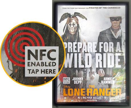 The Picture Works promotes movies with NFC.