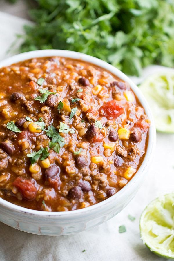 Slow Cooker Tex Mex Soup | This Gal Cooks