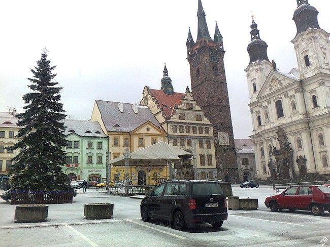 Klatovy - předvánoční čas (2. 12. 2014)