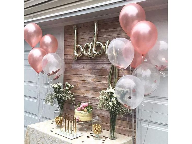 Rose Gold Balloons 120 Pack Gold and Pink Balloons and Pink   Etsy