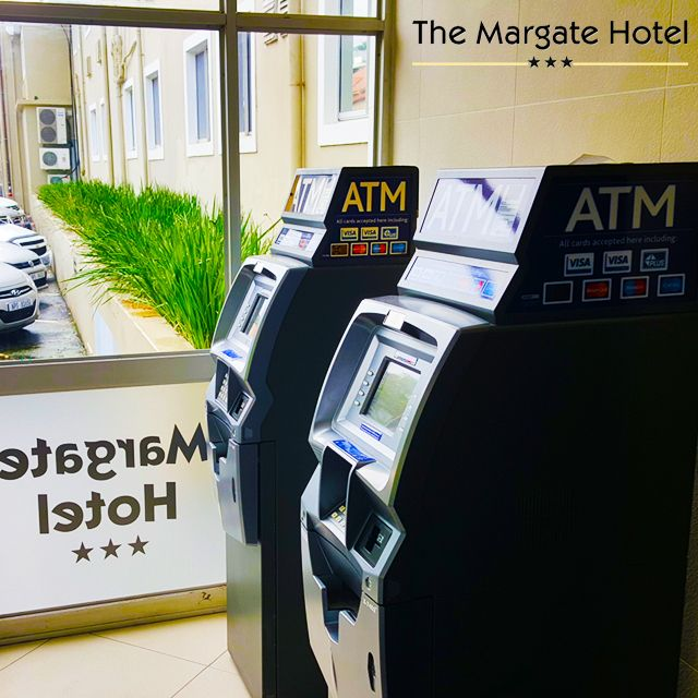 ATMs situated in our #lobby for your convenience at #Margate #Hotel suzette@margatehotel.co.za | (039) 312-1410